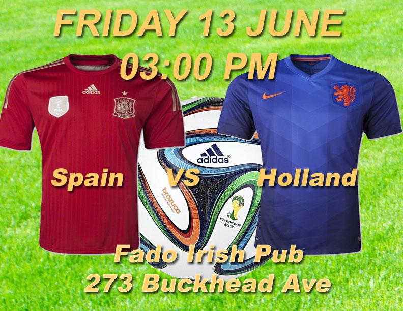 Spain VS Holland